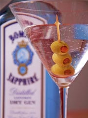 Trago Dry Martini