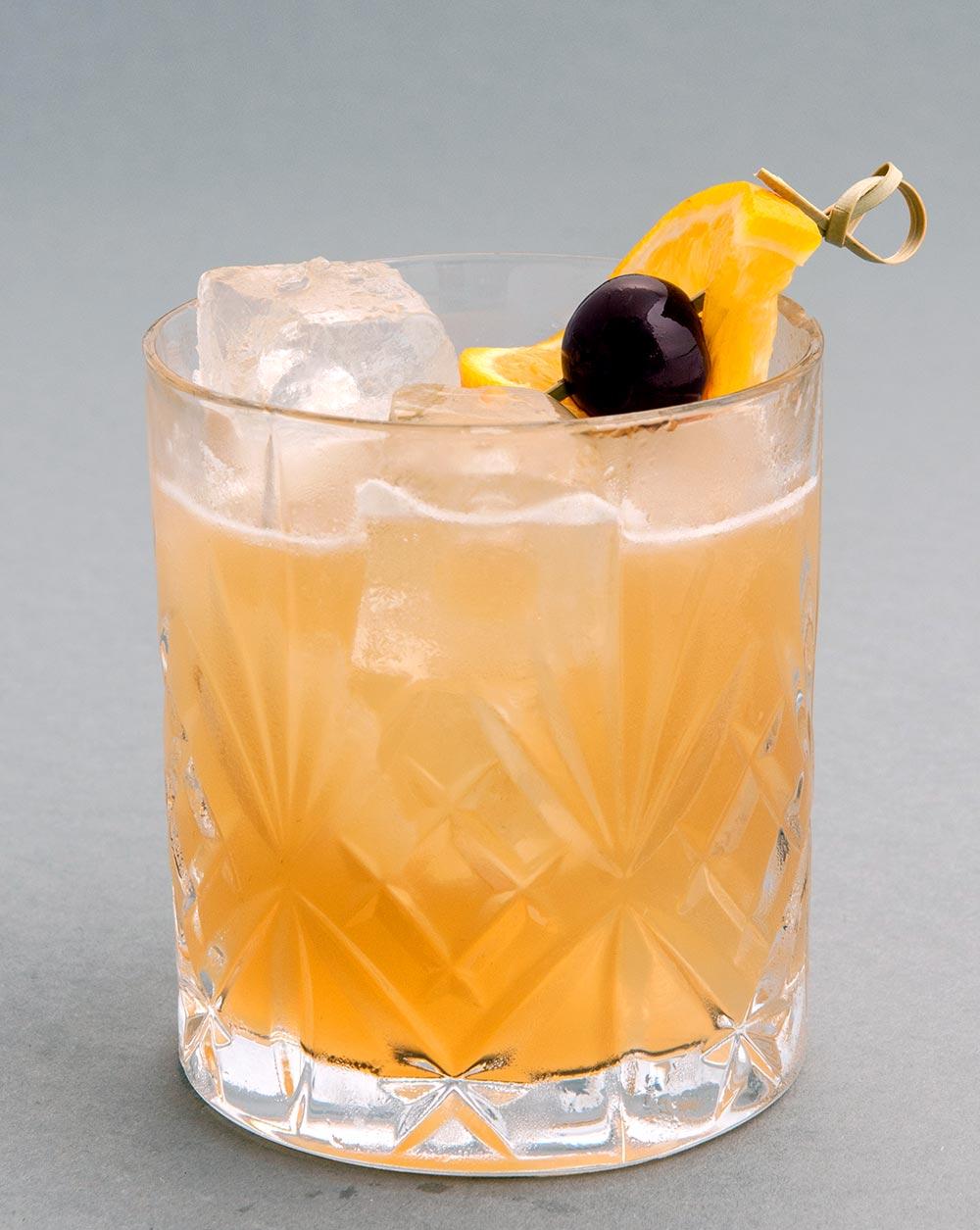 Cóctel Whiskey Sour